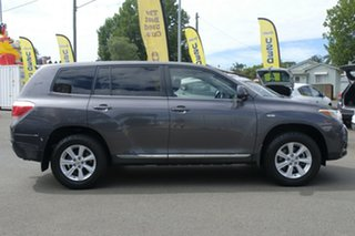 2011 Toyota Kluger GSU45R MY11 KX-R AWD Grey 5 Speed Sports Automatic Wagon.