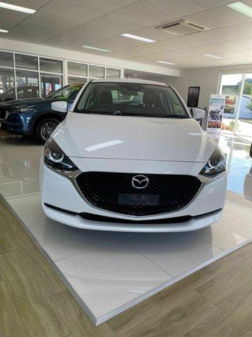 New Mazda 2 Bowen, 2020 Mazda 2 G15 Pure White 6 Speed Automatic Hatchback