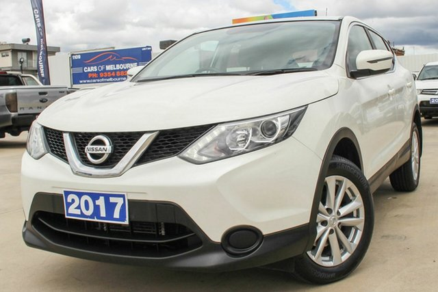 Used Nissan Qashqai J11 ST Coburg North, 2017 Nissan Qashqai J11 ST White 1 Speed Constant Variable Wagon