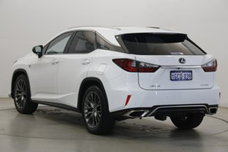 2016 Lexus RX GGL25R RX350 F Sport White 8 Speed Sports Automatic Wagon