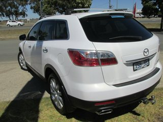 2010 Mazda CX-9 TB10A3 MY10 Grand Touring White 6 Speed Sports Automatic Wagon