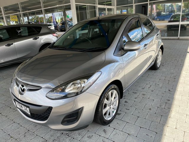 Used Mazda 2 Taree, 2013 Mazda 2 Maxx - Sport Aluminium Manual Hatchback