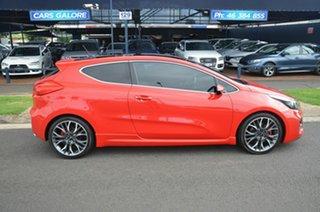 2014 Kia Pro_ceed JD MY15 GT-Tech Red 6 Speed Manual Hatchback.