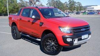2012 Ford Ranger PX Wildtrak Double Cab Chilli Orange 6 Speed Sports Automatic Utility.
