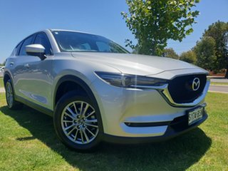 2017 Mazda CX-5 KF4WLA Touring SKYACTIV-Drive i-ACTIV AWD Sonic Silver 6 Speed Sports Automatic.