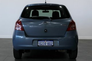 2006 Toyota Yaris NCP90R YR Blue 4 Speed Automatic Hatchback