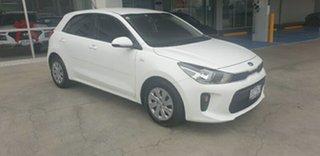 2018 Kia Rio YB MY19 S Clear White 4 Speed Sports Automatic Hatchback.