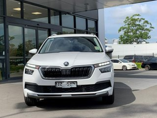 2020 Skoda Kamiq NW MY21 85TSI DSG FWD White 7 Speed Sports Automatic Dual Clutch Wagon.