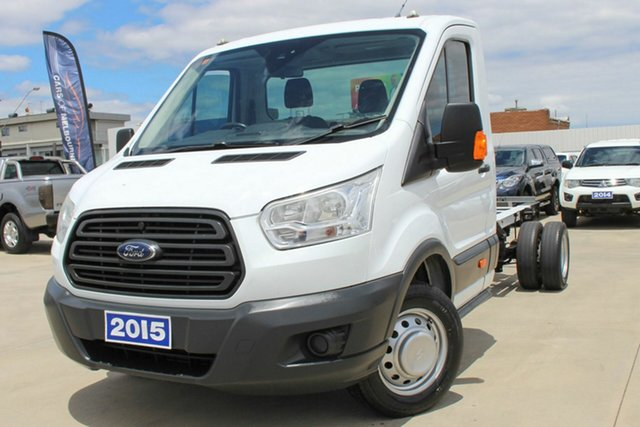 Used Ford Transit VO 470E Coburg North, 2015 Ford Transit VO 470E White 6 Speed Manual Single Cab Cab Chassis