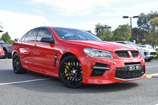 2015 Holden Special Vehicles GTS Gen-F MY15 Red/Black 6 Speed Sports Automatic Sedan.