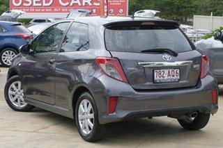 2014 Toyota Yaris NCP131R ZR Grey 5 Speed Manual Hatchback.