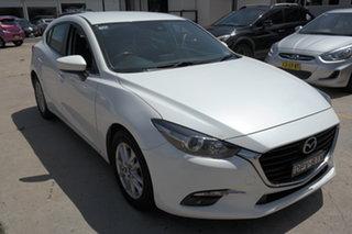 2016 Mazda 3 BM5476 Maxx SKYACTIV-MT White 6 Speed Manual Hatchback.