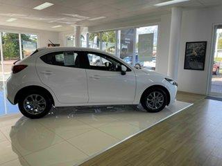 2020 Mazda 2 G15 Pure White 6 Speed Automatic Hatchback