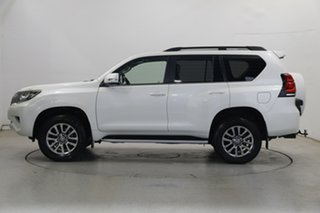 2018 Toyota Landcruiser Prado GDJ150R Kakadu Pearl White 6 Speed Sports Automatic Wagon