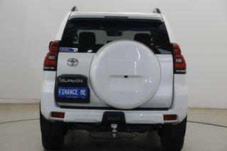 2018 Toyota Landcruiser Prado GDJ150R Kakadu Pearl White 6 Speed Sports Automatic Wagon