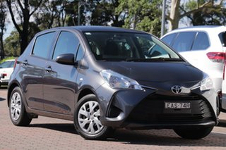 2019 Toyota Yaris NCP130R Ascent Grey Metallic 4 Speed Automatic Hatchback.