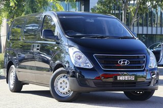 2018 Hyundai iLOAD TQ Series II (TQ3) MY1 3S Liftback Black 5 Speed Automatic Van.