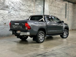 2017 Toyota Hilux GUN126R SR5 Double Cab Grey 6 Speed Sports Automatic Utility