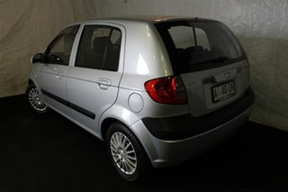 2008 Hyundai Getz TB MY09 SX Space Silver 4 Speed Automatic Hatchback