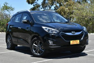 2014 Hyundai ix35 LM3 MY15 Elite AWD Black 6 Speed Sports Automatic Wagon.