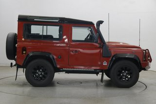 2011 Land Rover Defender 90 11MY Red 6 Speed Manual Wagon