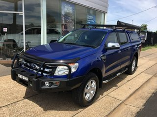 2014 Ford Ranger PX XLT Blue Sports Automatic.