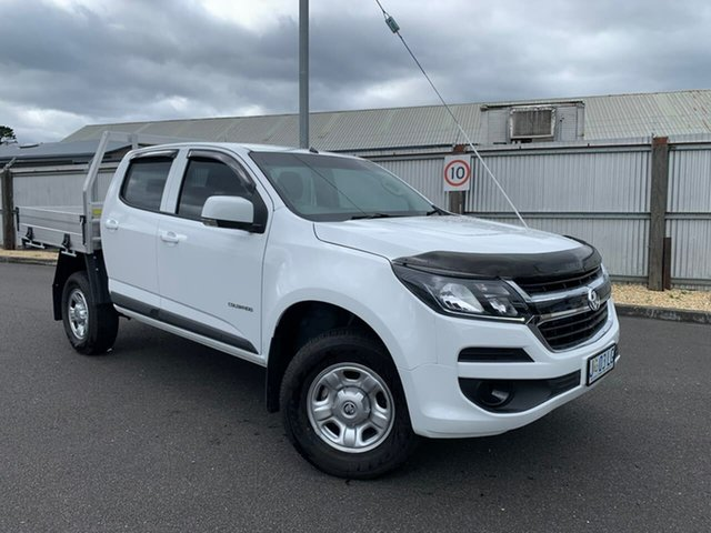 Used Holden Colorado RG MY20 LS Crew Cab 4x2 Moonah, 2019 Holden Colorado RG MY20 LS Crew Cab 4x2 White 6 Speed Sports Automatic Cab Chassis