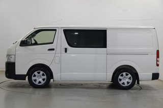 2015 Toyota HiAce TRH221R High Roof Super LWB White 6 Speed Automatic Van.