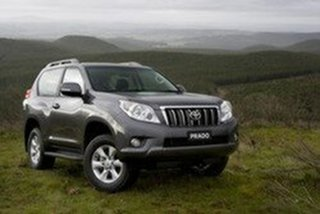 2011 Toyota Landcruiser Prado KDJ150R 11 Upgrade GXL (4x4) Graphite 5 Speed Sequential Auto Wagon