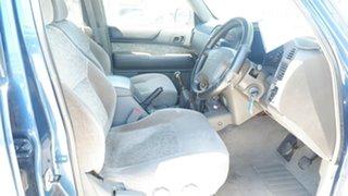 2000 Nissan Patrol GU II ST Blue 5 Speed Manual Wagon