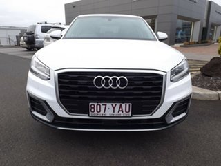 2018 Audi Q2 GA MY18 design S Tronic Ibis White 7 Speed Sports Automatic Dual Clutch Wagon