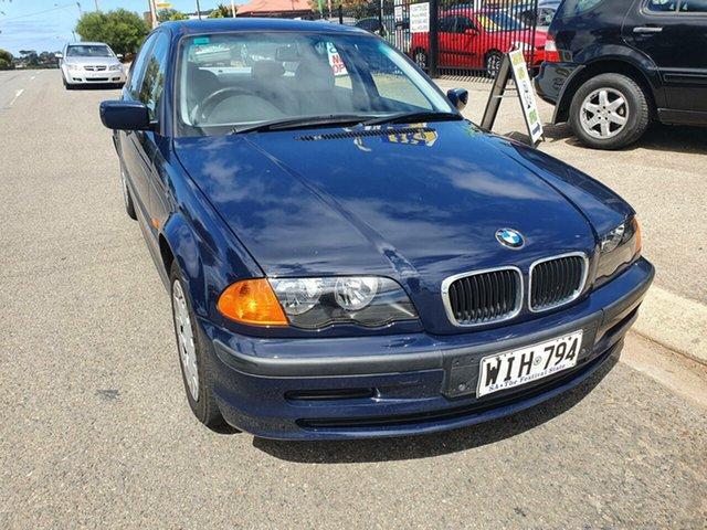 Used BMW 318i E46 318i Morphett Vale, 1999 BMW 318i E46 318i Blue 4 Speed Automatic Sedan