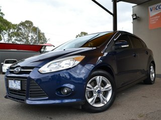 2011 Ford Focus LW Trend Blue 5 Speed Manual Hatchback