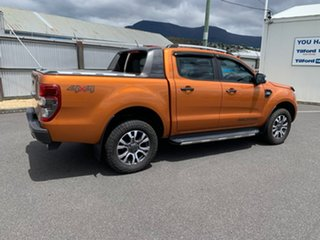 2017 Ford Ranger PX MkII Wildtrak Double Cab Orange 6 Speed Manual Utility.