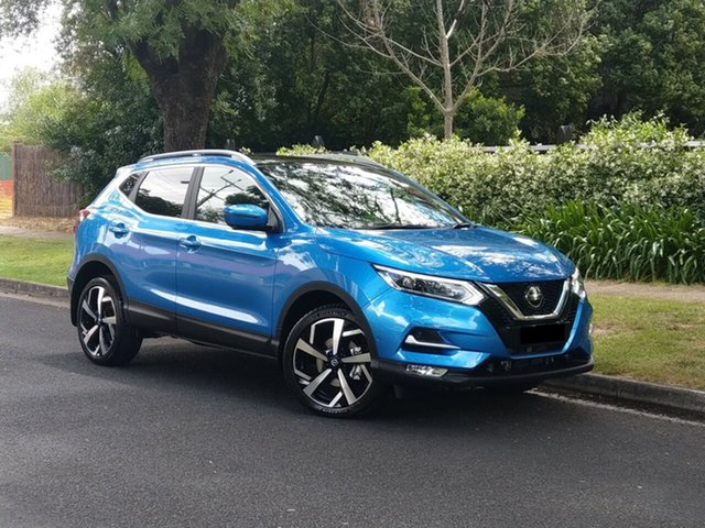 Demo Nissan Qashqai J11 Series 3 MY20 Ti X-tronic Nailsworth, 2020 Nissan Qashqai J11 Series 3 MY20 Ti X-tronic Vivid Blue 1 Speed Constant Variable Wagon