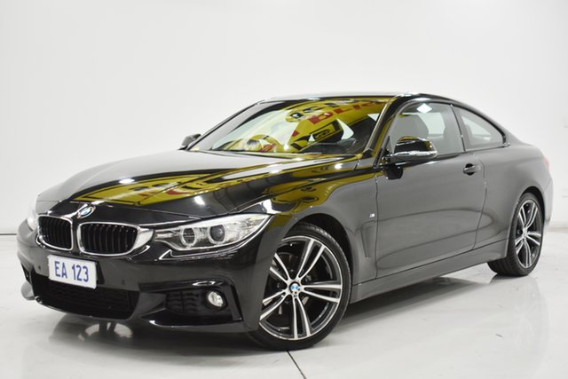 Used BMW 4 Series F32 420d Sport Line Brooklyn, 2015 BMW 4 Series F32 420d Sport Line Black 8 Speed Sports Automatic Coupe