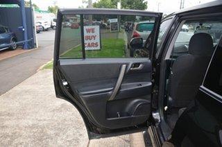 2009 Toyota Kluger GSU40R KX-R (FWD) 7 Seat Black 5 Speed Automatic Wagon
