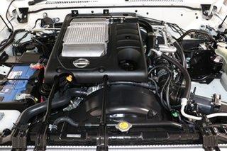 2016 Nissan Patrol GU Series 9 ST (4x4) Pearl White 5 Speed Manual Wagon