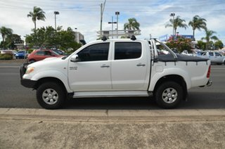 2005 Toyota Hilux KUN26R SR5 (4x4) White 5 Speed Manual Dual Cab Pick-up