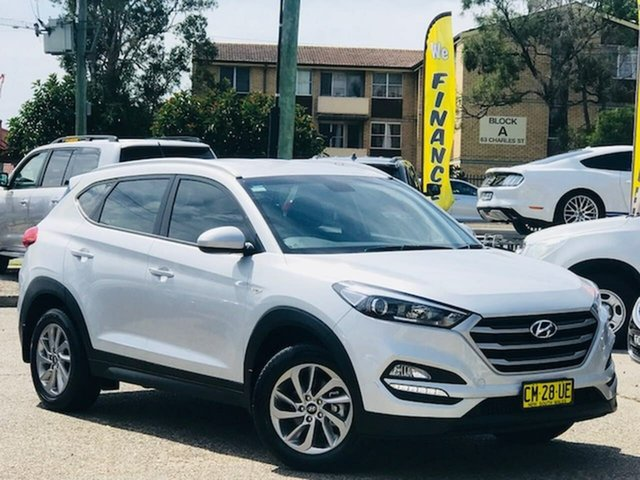 Used Hyundai Tucson TL2 MY18 Active 2WD Liverpool, 2017 Hyundai Tucson TL2 MY18 Active 2WD Silver 6 Speed Sports Automatic Wagon