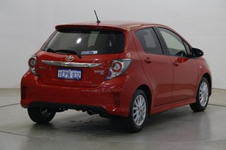 2014 Toyota Yaris NCP131R ZR Red 4 Speed Automatic Hatchback