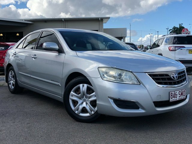 Used Toyota Aurion GSV40R AT-X Garbutt, 2007 Toyota Aurion GSV40R AT-X Silver 6 Speed Sports Automatic Sedan
