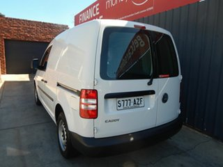 2013 Volkswagen Caddy 2KN MY14 TSI160 SWB White 5 Speed Manual Van