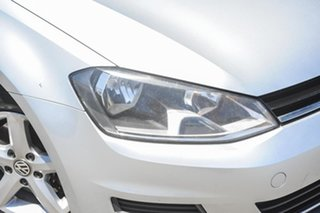 2013 Volkswagen Golf VII 90TSI DSG Silver 7 Speed Sports Automatic Dual Clutch Hatchback.