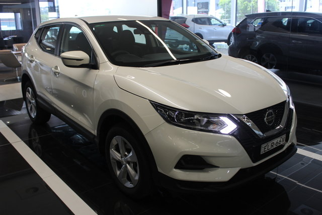 Demo Nissan Qashqai J11 Series 3 MY20 ST X-tronic Cardiff, 2020 Nissan Qashqai J11 Series 3 MY20 ST X-tronic Ivory Pearl 1 Speed Constant Variable Wagon
