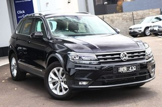 2019 Volkswagen Tiguan 132TSI C/LINE Black 7 Speed Automatic Wagon.