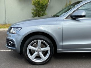 2010 Audi Q5 8R MY11 TDI S Tronic Quattro Grey 7 Speed Sports Automatic Dual Clutch Wagon