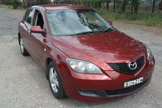 2008 Mazda 3 BK10F2 Neo Red 4 Speed Sports Automatic Hatchback.