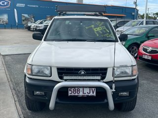 1999 Holden Frontera MX S White 5 Speed Manual Wagon