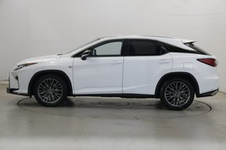 2016 Lexus RX GGL25R RX350 F Sport White 8 Speed Sports Automatic Wagon.